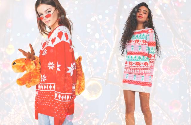 10 pulls de Noël moches (mais stylés) pour célébrer la meilleure fête