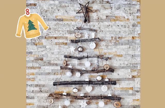 4 DIY pour faire ton propre «sapin de Noël» (tous niveaux)
