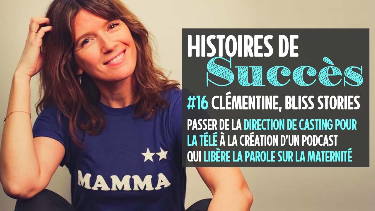 Comment Clémentine a créé Bliss Stories pour libérer la parole autour de la maternité