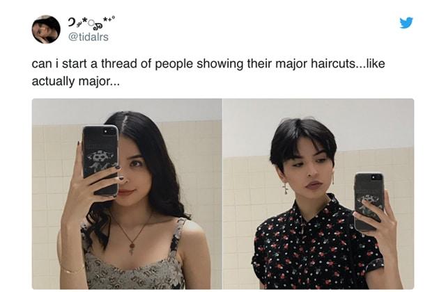 Ce thread va te donner envie de foncer couper tes cheveux!