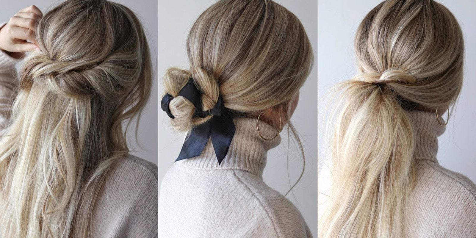 8 idées de coiffures de fête pour les cheveux longs et mi-longs
