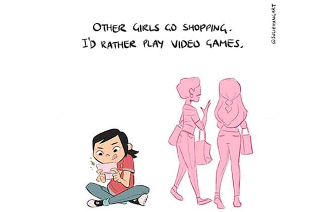 Tu penses que tu n'es « pas comme les autres filles » ? Ceci est pour toi