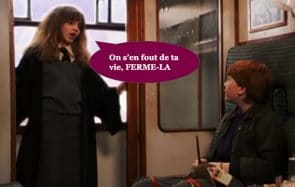 pires personnes dans le train