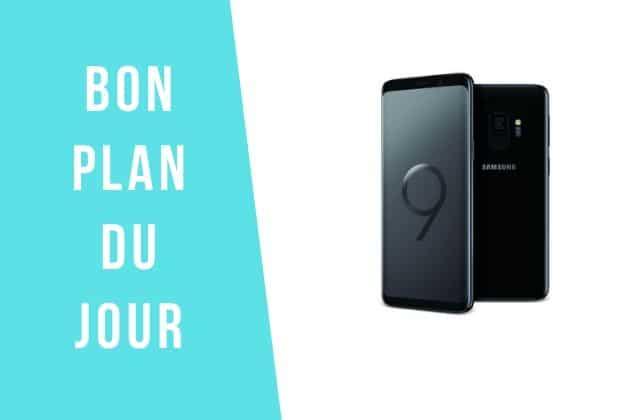Bon plan du jour : profite de -210€ sur la smartphone Samsung Galaxy S9