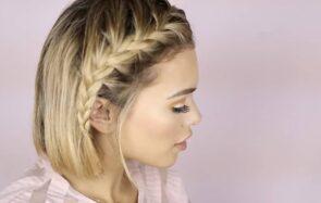 8 tutos de coiffures de fête pour les cheveux courts