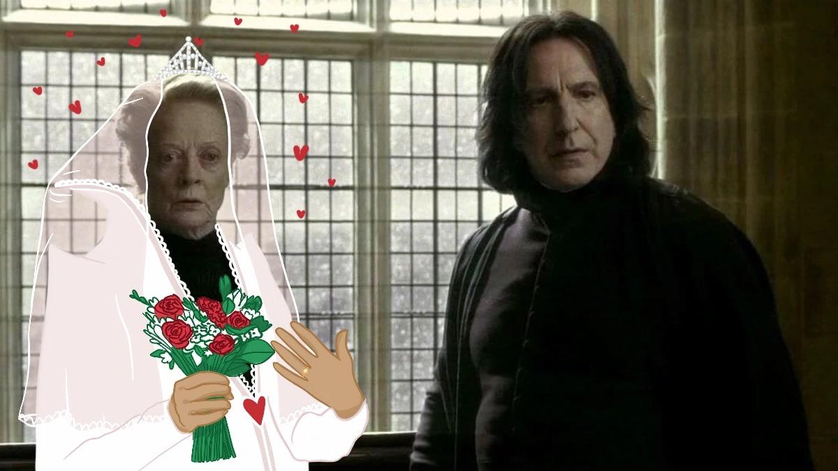 Severus Rogue et ses épouses « astrales », une histoire bien WTF