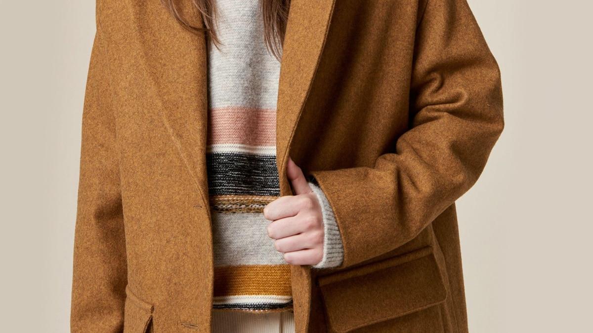 Sélection de manteaux soldés bien chauds pour l'hiver