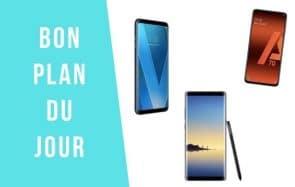 Bon plan du jour : 3 smartphones en soldes (jusqu'à – 56%) !
