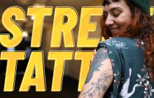 Street Tattoos — Laure, entre architecture et nature !