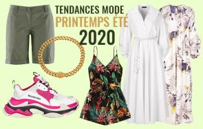 Les tendances mode printemps/été 2020