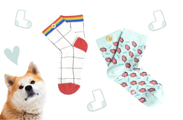 En achetant ces jolies chaussettes, tu fais un don à la SPA