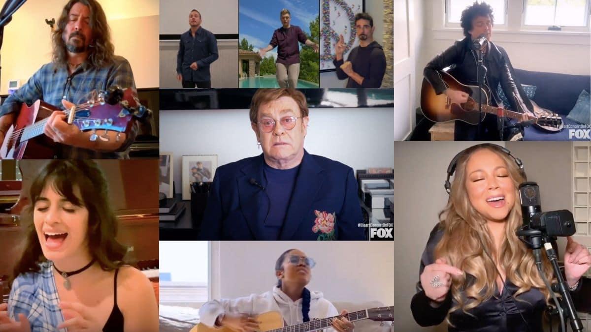 Elton John, les Backstreet Boys, Dave Grohl et les autres cassent internet avec un concert confiné