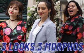 On crée 3 looks pour 3 morphologies avec la même collection!