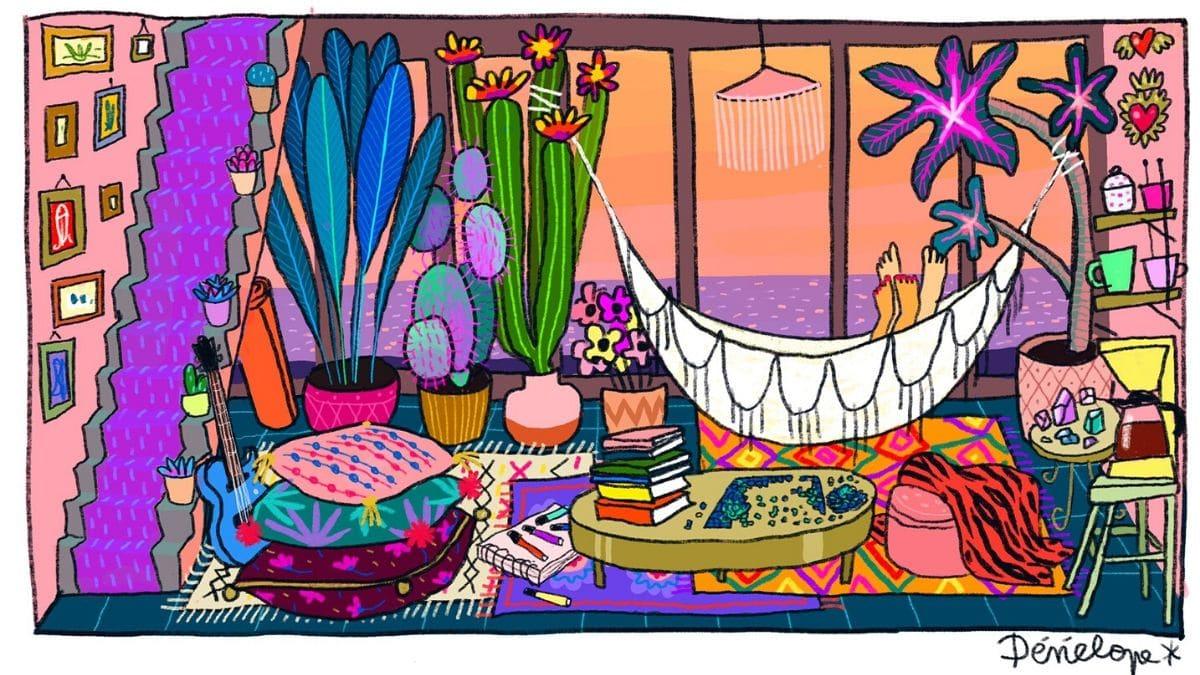 La #Coronamaison de Pénélope Bagieu & autres artistes adoucit ton confinement