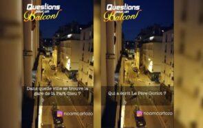 « Questions pour un balcon » : le nouveau jeu du confinement