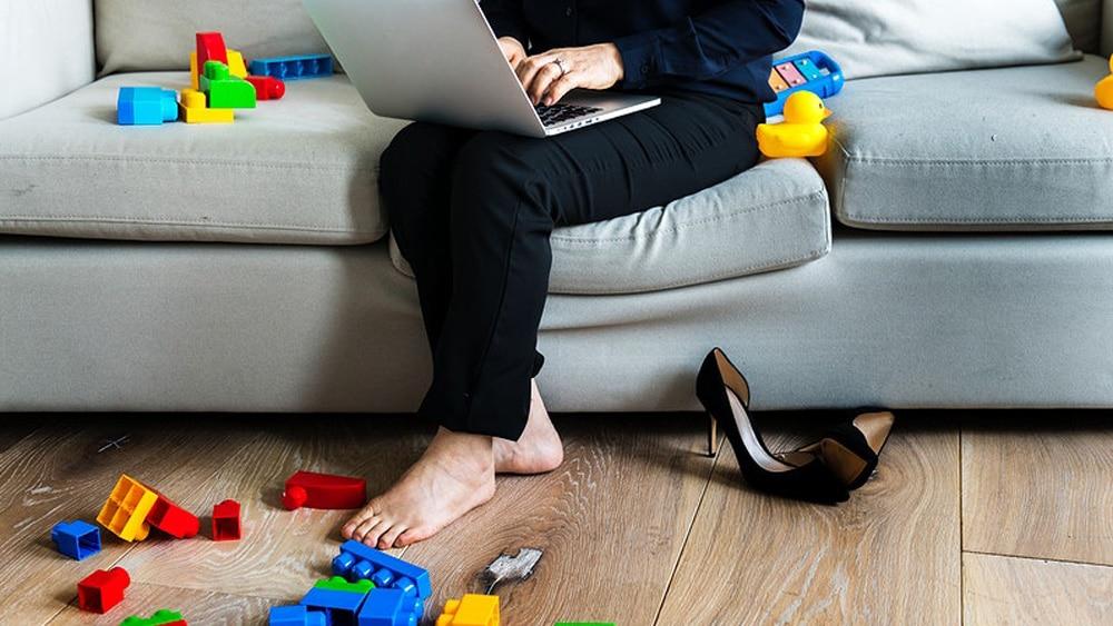 Télétravailler avec un bébé de 2 ans, une mission presque impossible