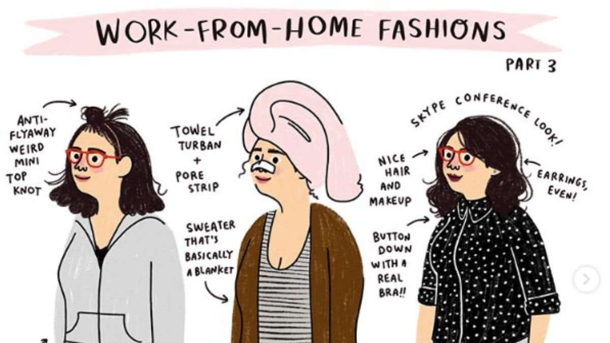 La vérité sur le look des gens qui travaillent chez eux enfin révélée
