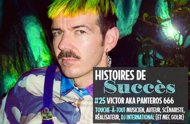 Comment Victor (Kamel Toe) est devenu Panteros666, DJ atypique
