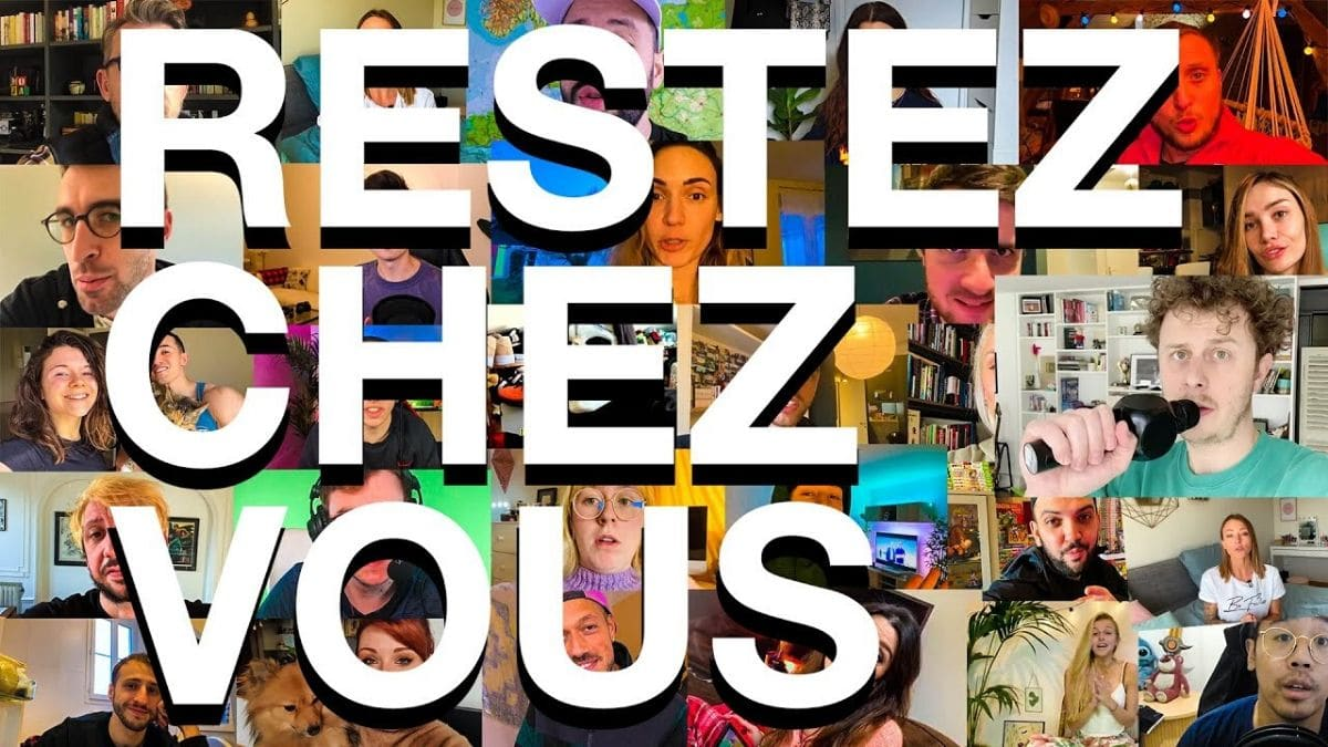 La crème du YouTube France s'engage pendant le confinement