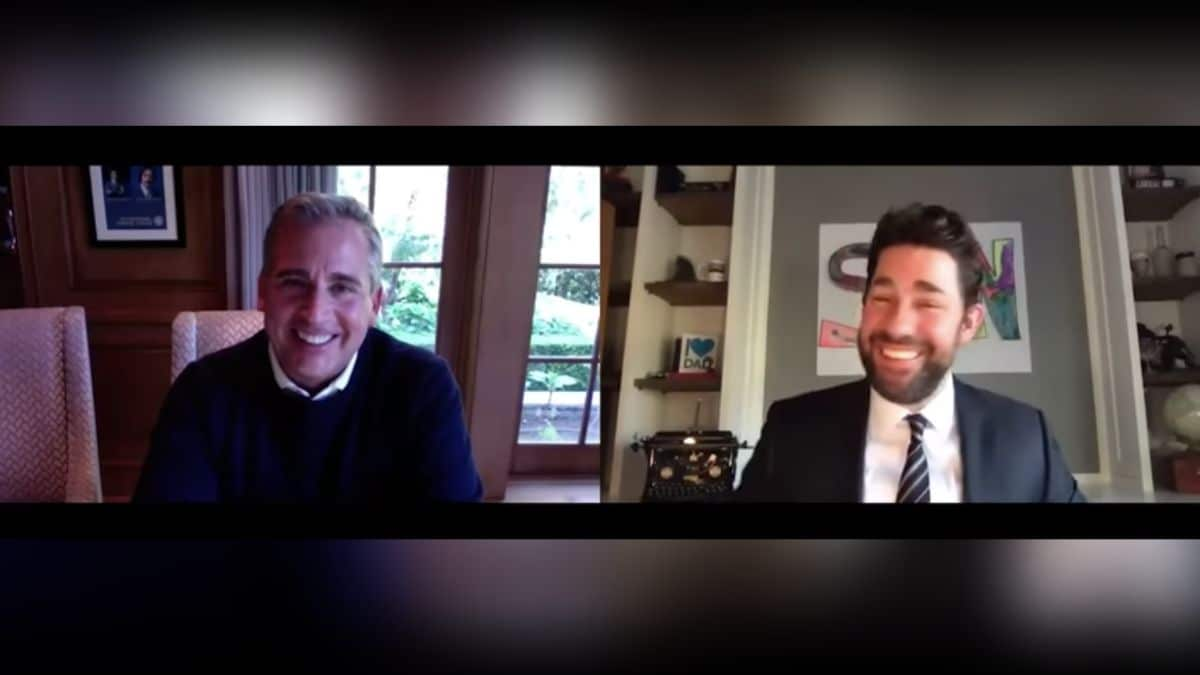Steve Carell et John Krasinski réunis pour les 15 ans de The Office