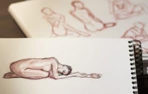 Les nudes dessinés ou peints sont partout sur TikTok