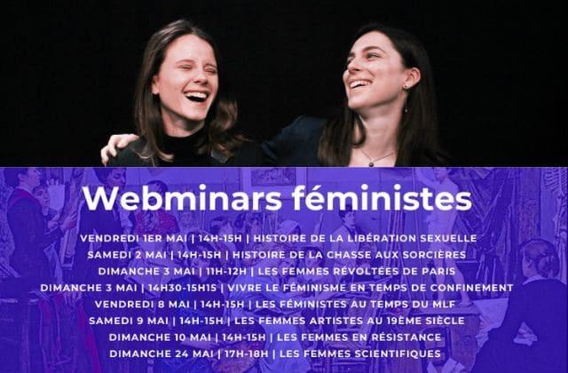 Fais le plein de culture féministe pendant le confinement grâce à ces webinars !