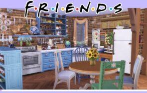 L'appart de Monica (Friends) dans Les Sims 4, cette idée géniale
