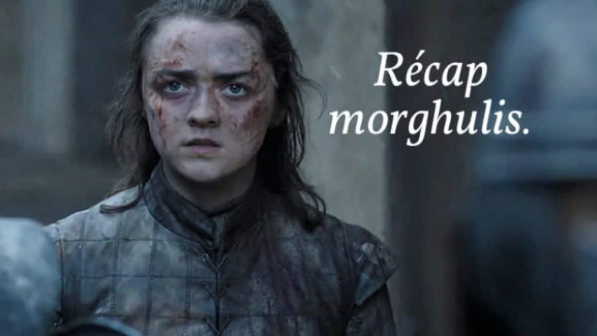 Le récap rigolo de Game of Thrones est DE RETOUR !
