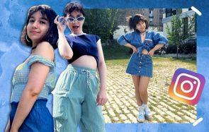 4 looks avec du bleu : Instagram choisit la couleur de ma tenue