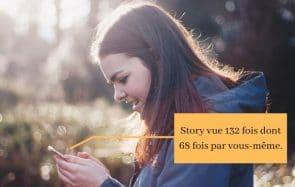Pourquoi regardes-tu tes propres stories Insta en boucle ?
