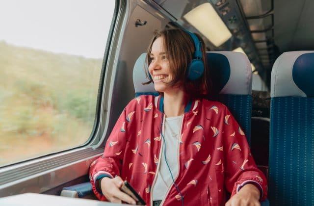 personne rencontre dans le train