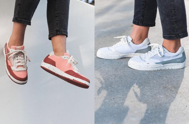 Ces sneakers véganes sont recyclables à l'infini!