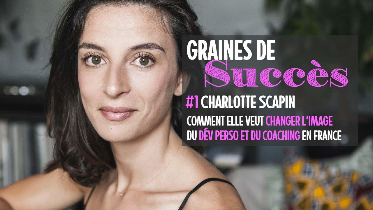 Comment Charlotte Scapin veut moderniser l'image du coaching en France