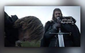 Game of Thrones S01E01—Le récap (rigolo) INÉDIT!