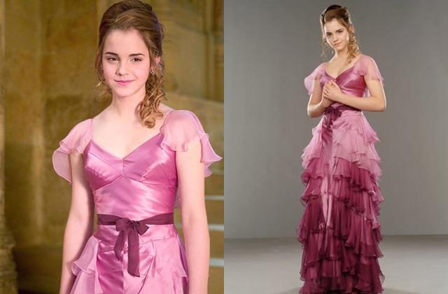 Pourquoi la robe d'Hermione au Bal de Noël ne pouvait pas être bleue
