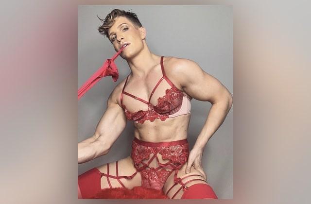 Un mec pose en lingerie «pour femme», et la marque le défend!