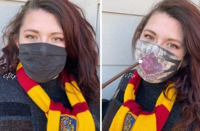 Ces masques Harry Potter cachent un secret