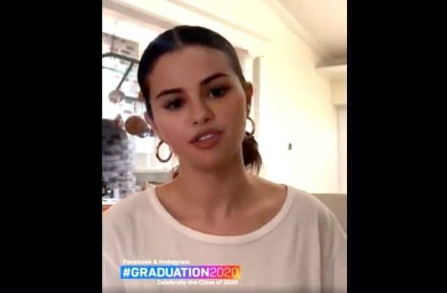Selena Gomez donne des conseils aux promos censées passer leur diplôme en 2020