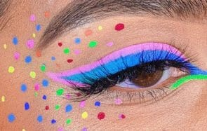 eye-liner coloré