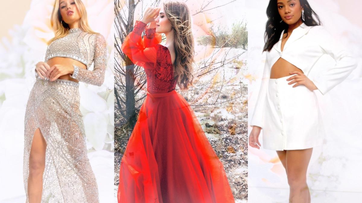7 idées de tenues de mariage qui changent de la robe blanche !