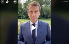 4 conseils à Emmanuel Macron pour percer sur TikTok
