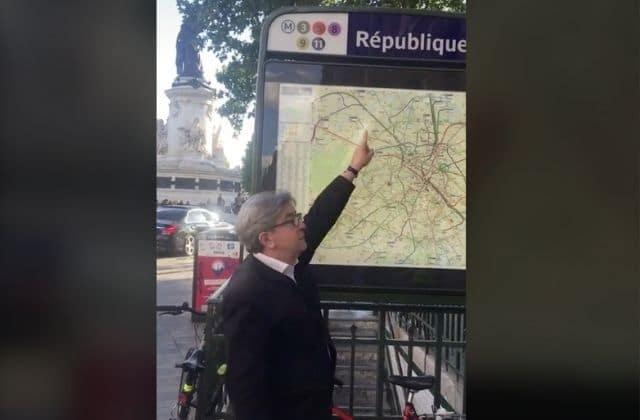 Après Macron, Mélenchon riposte sur TikTok en citant Wejdene
