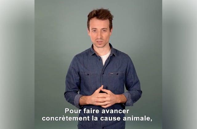 Hugo Clément défend la cause animale avec le Référendum des Animaux