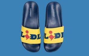 Bientôt des claquettes Lidl à tes pieds ?