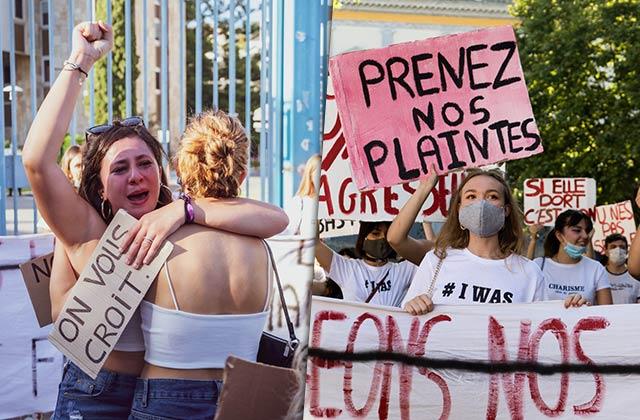 La manif en Corse contre les violences sexuelles, dans les yeux d'une photographe