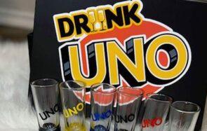 Le UNO existe aussi en jeu à boire et ça va balancer du +4 !