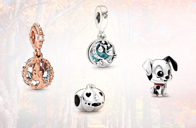 Une large sélection de pendentifs merveilleux en promo chez Pandora!