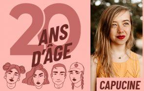 À 20 ans, Capucine vient de publier son premier roman