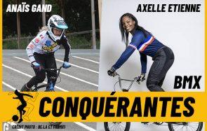 Deux championnes de BMX parlent de leur préparation aux JO de Tokyo
