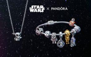 La nouvelle collection de bijoux « Star Wars » de Pandora vous emmènera du côté clair de la Force